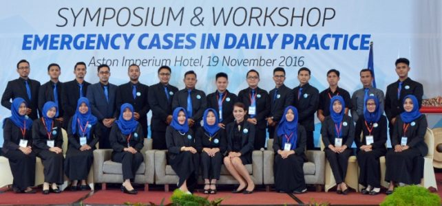 "KEMERIAHAN ""SIMPOSIUM & WORKSHOP EMERGANCY CASES IN DAILY PRACTICE"" RS DADI KELUARGA"