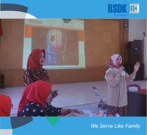 Talkshow Kenali dan Cegah Penyakit Stroke bersama dr. Ajeng, Sp. N