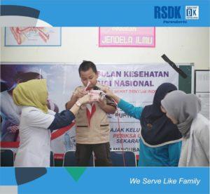Penyuluhan Bulan Kesehatan Gigi Nasional di SDN 5 Teluk, bersama drg. Febriyanti Widyaningrum