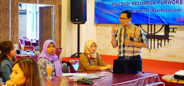 Talk Show Kenali dan Cegah Kanker Serviks bersama dr. Herman Sumawan, Sp, OG