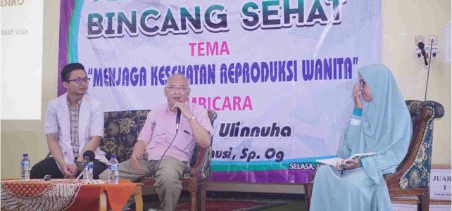 Grebeg Masjid, Bincang Sehat Bersama dr. Sjafril Sanusi,Sp.OG